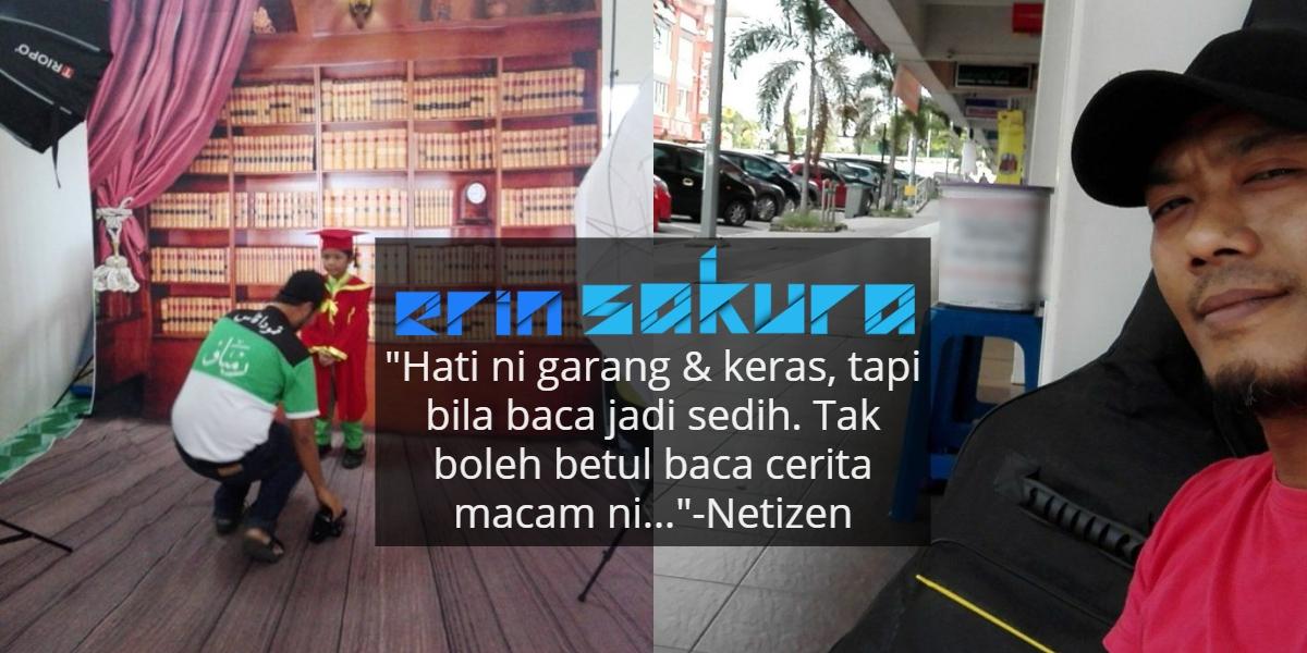 Ayah Tak Mampu Bayar Gambar Konvo RM20 Anak, Penghujung Kisahnya Tambah Sebak