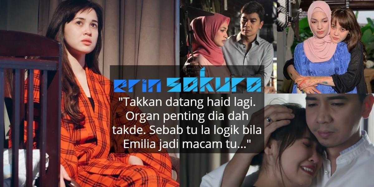 Lakonan Psiko Buat Penonton Geram, Rupanya Watak Emi Hidap Kesan 'Hysterectomy'