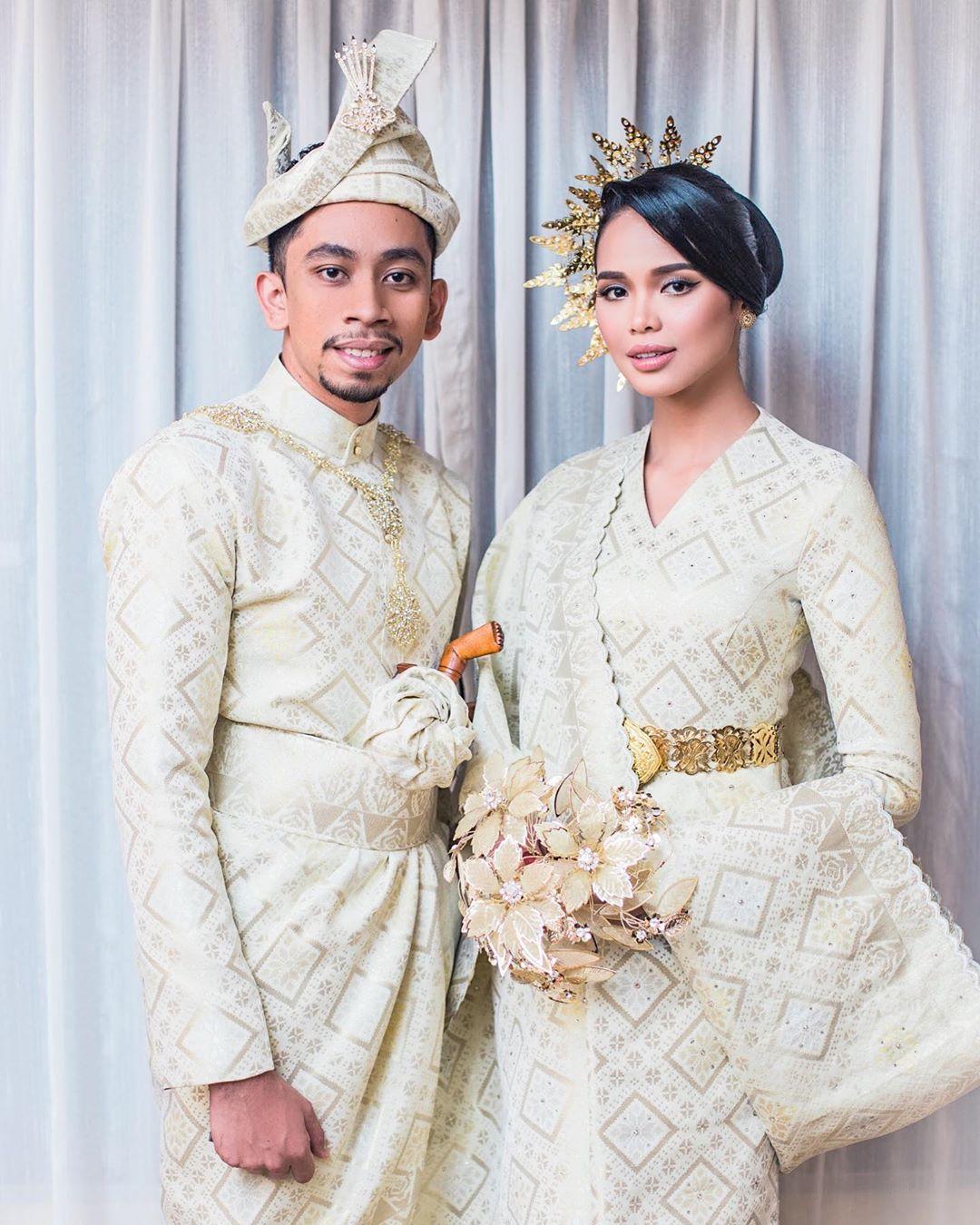 [FOTO] Tema 'Melayu Klasik' Ain Edruce Cukup Mempesona, Janna Nick Pun Puji