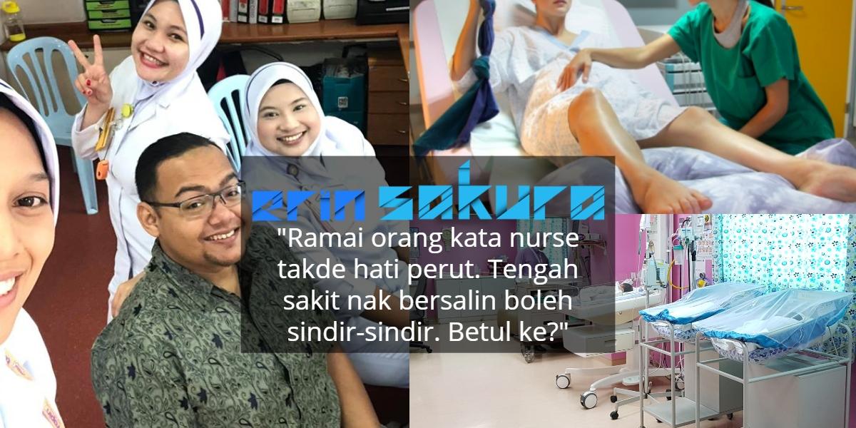 Nurse Labour Room Memang Garang Bak 'Singa Betina', Tapi Janganlah Dihina Pula