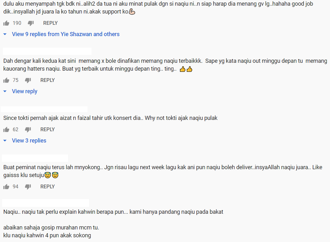 [VIDEO] Nyanyi Lagu Tok Ti Macam 'Makanan' Sendiri, Part Korus Naqiu Paling Wow