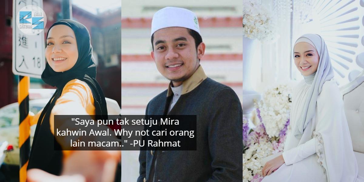Kecoh Pasal Mira Filzah Nak Kahwin Tahun 2020, PU Rahmat Sempat Bagi Komen Lucu