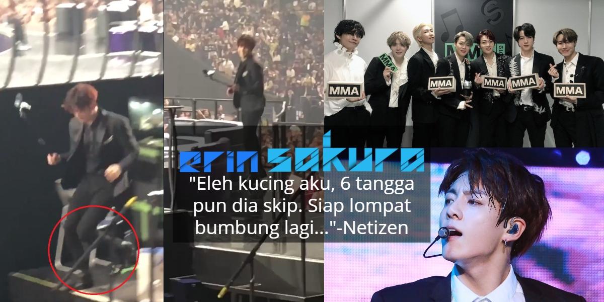 [VIDEO] Army Kagum Ahli BTS Lompat Turun Tangga, Netizen Pula Komen Sebaliknya