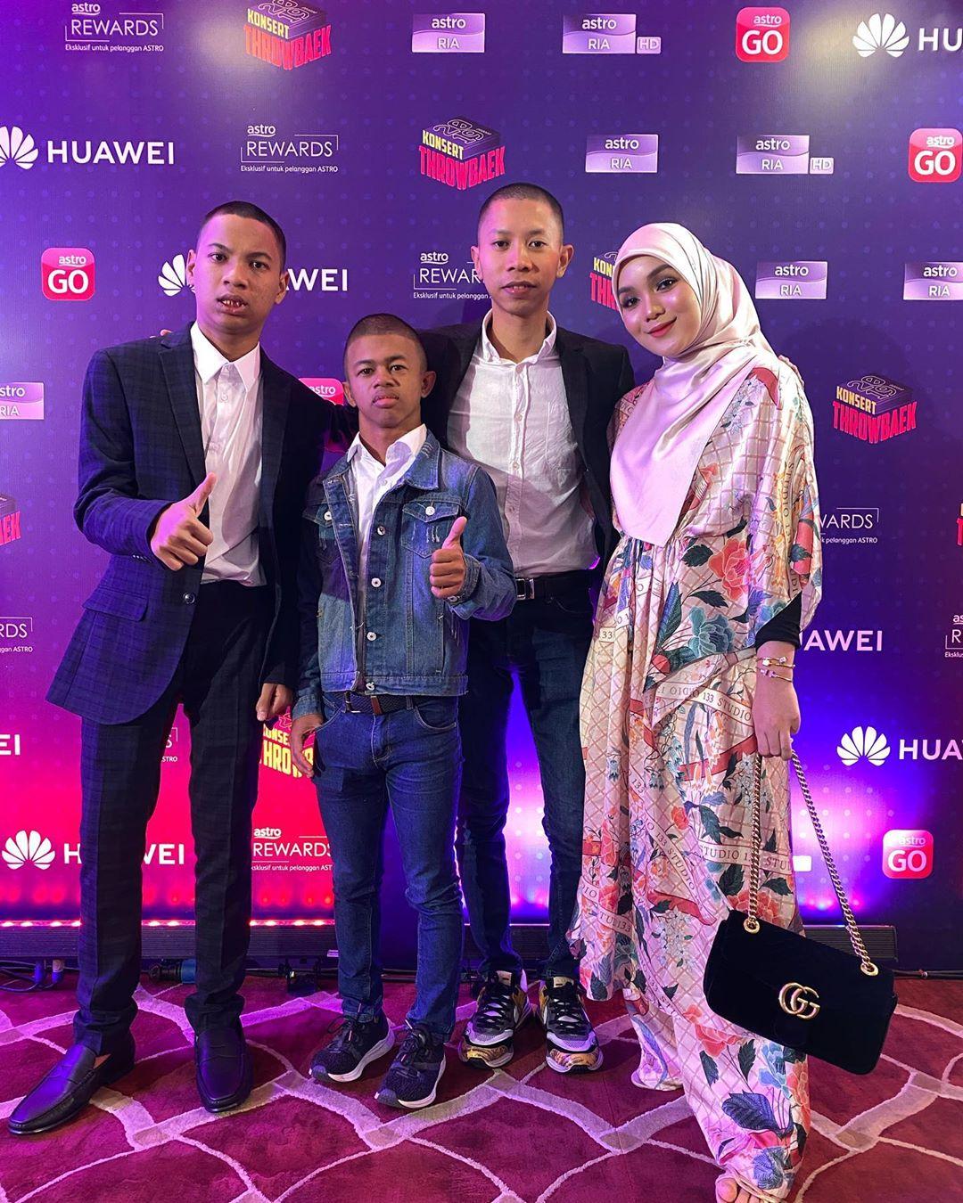 Riuh Habis Pentas, Syahmi Sazli Raih Anugerah Di Konsert Throwbaek 2019 Astro