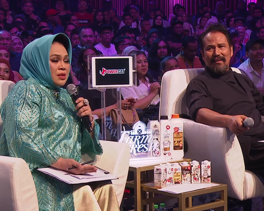 """Saya Dah Jadi Peminat""-Walau Nyanyian Tak Sempurna, Naqiu Tawan Datuk M. Nasir"