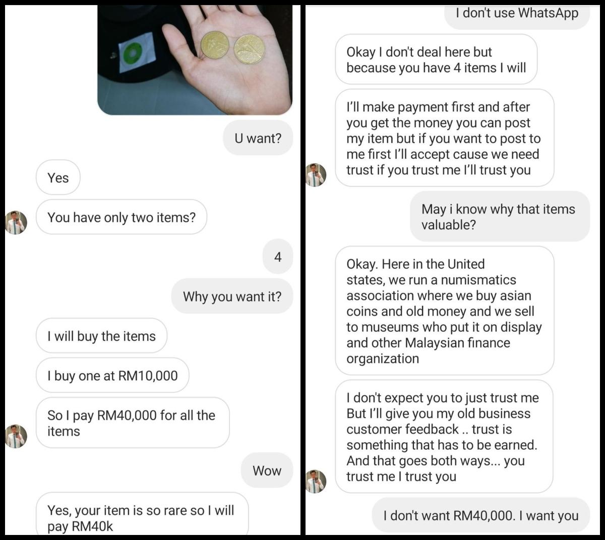 Gadis Try Mengurat 'Old Money Collector', Bila Dah Terpikat Seram Pula Jadinya