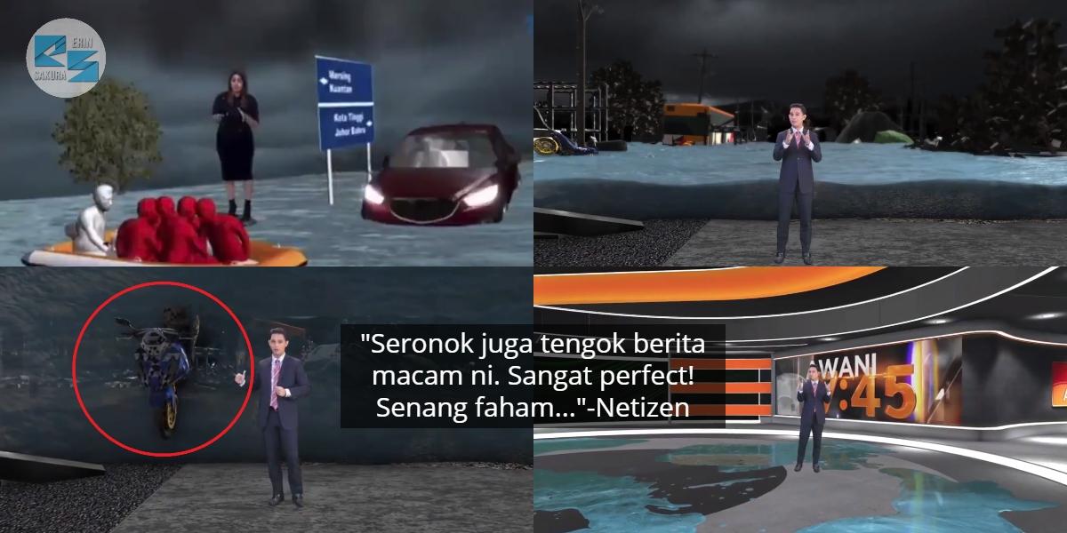 [VIDEO] Lengkap 'Animation Effect', Netizen Bangga Berita Malaysia Makin Maju