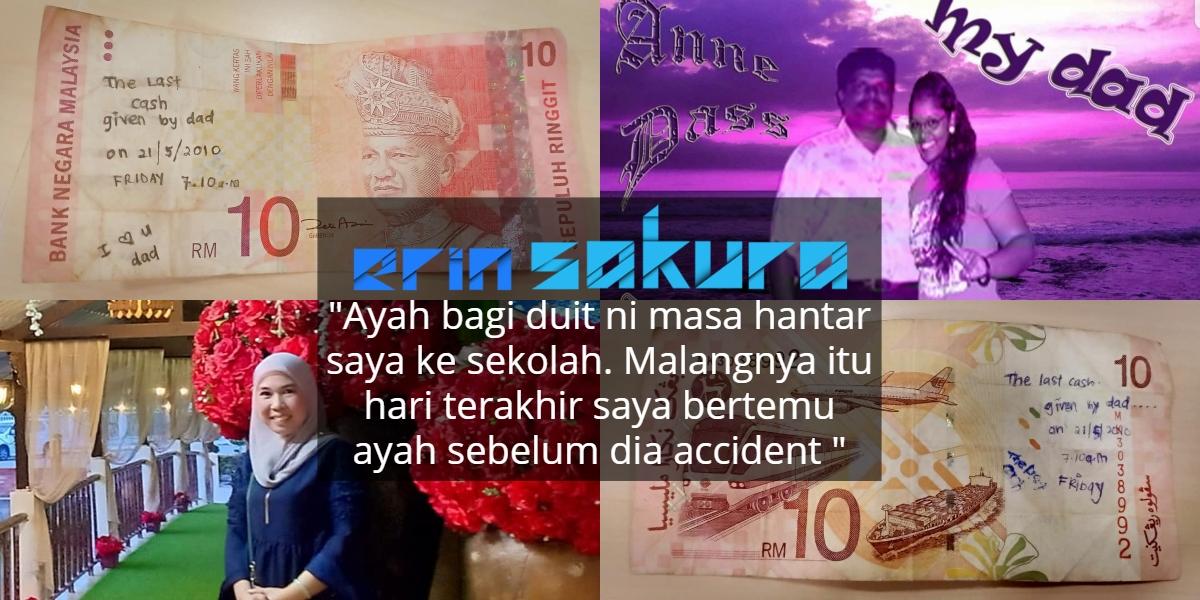 Duit RM10 Peninggalan Ayah Hilang, Owner Sebenar Sebak Lepas Dah Jumpa Balik