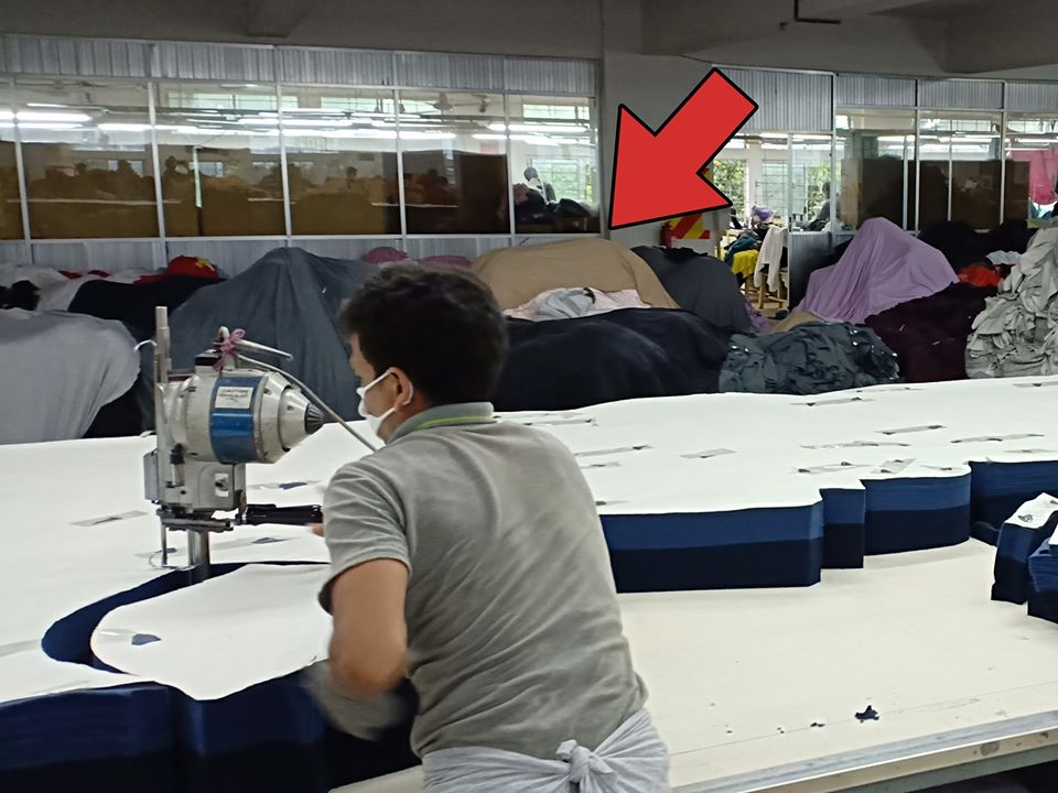 Lelaki Ini Dedah Situasi Dalam Kilang Kain, Wajib Basuh Baju Baru Sebelum Pakai