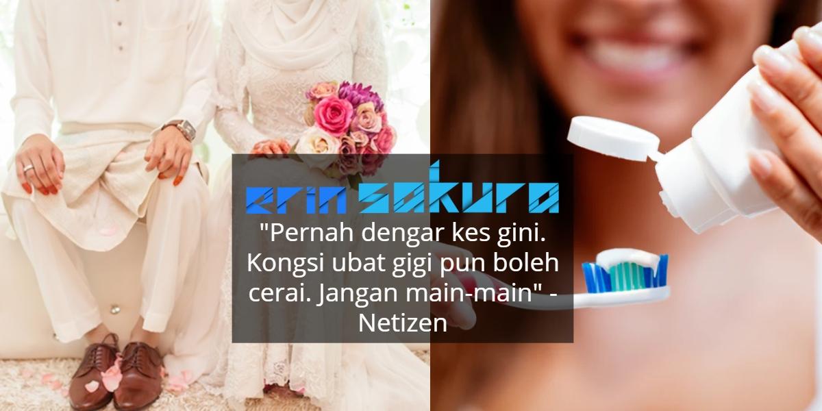 Kecoh Rumah Tangga Runtuh Gara-Gara Ubat Gigi, Komen Netizen Pula Undang Tawa