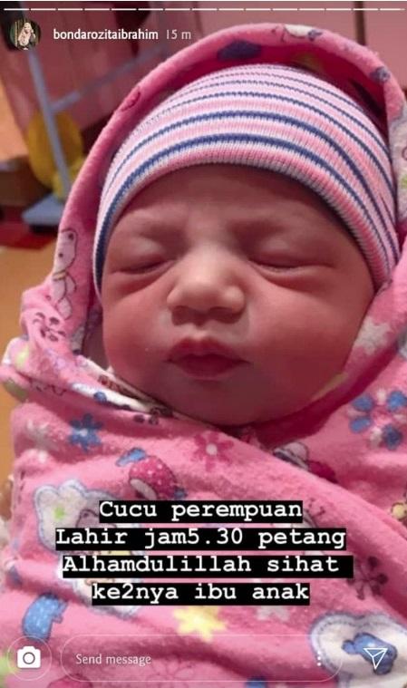 Dilahirkan Tak Cukup Hari Ds Aliff Syukri Kini Dedahkan Wajah Cute Baby Bongsu Erin Sakura