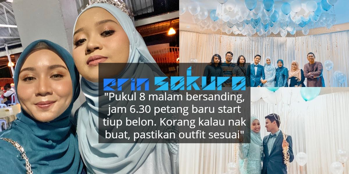 Plan Last Minute, Tak Sangka Berjaya Buat Pelamin Cantik 'DIY' Guna Belon Saja