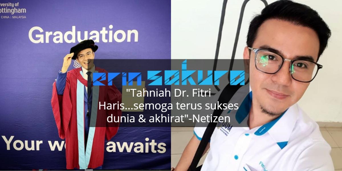 Fitri Haris Bergelar Doktor Falsafah, Tempuhi 4 tahun Berliku