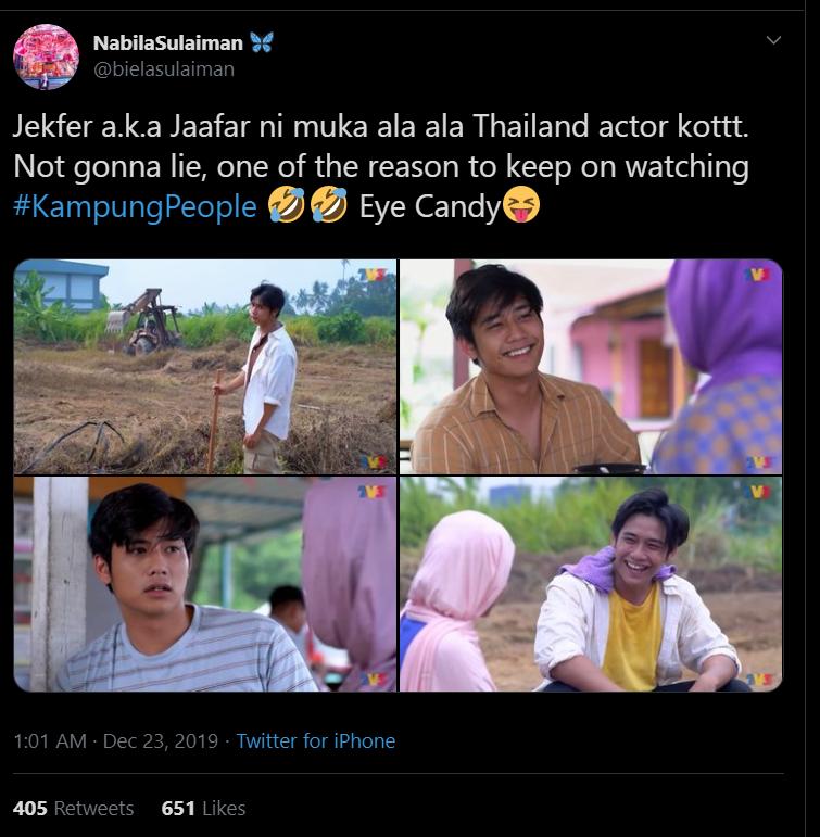 Kacak Persis Pelakon Thai, Watak Jaafar Dalam 'Kampung People' Pikat Penonton