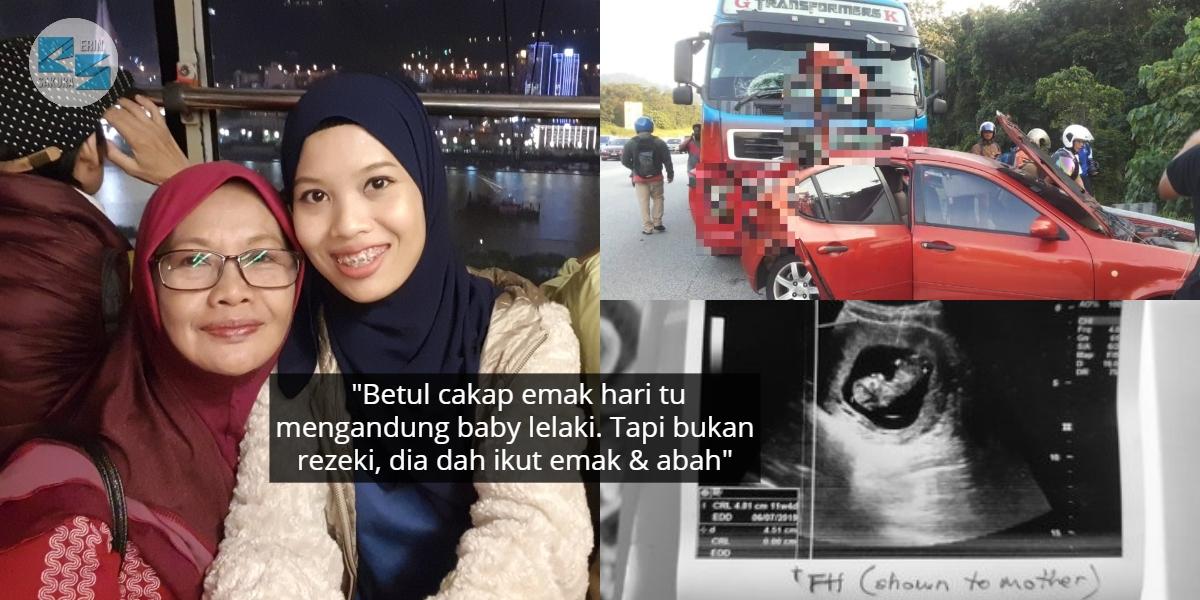 Dirempuh Pemandu Treler Mengantuk, Wanita Ini Hilang Ibu & Gugur Bayi 4 Bulan