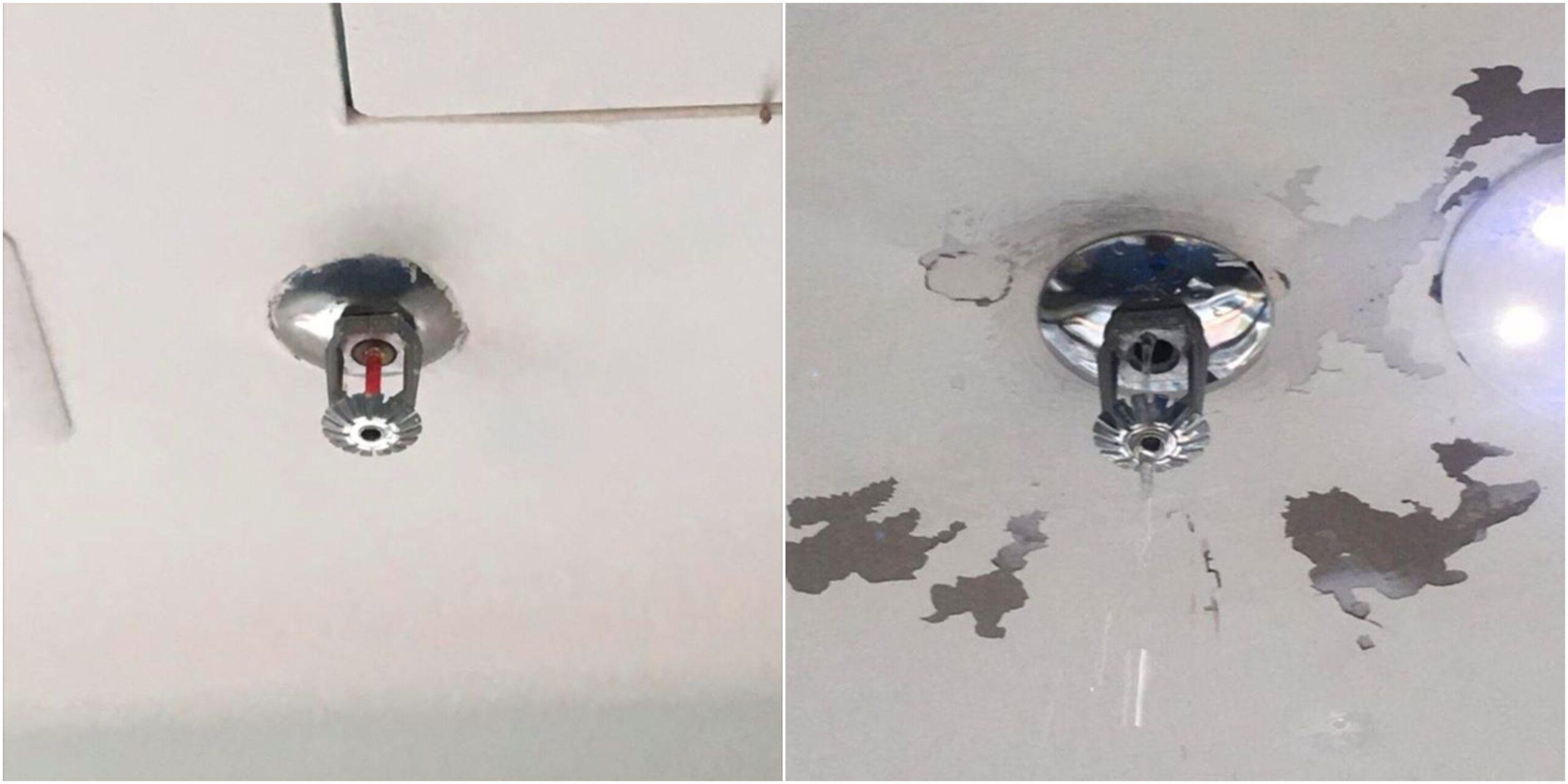 Padah Gantung Dekat Fire Sprinkler – Baju Pengantin Basah, Duit Beribu Melayang