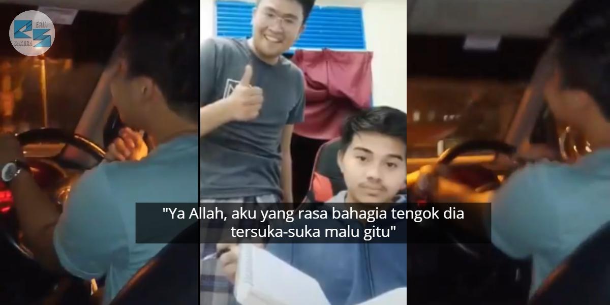 [VIDEO] Kemain 'Menggeletis' Habis Bila 'Crush' Balas DM, Tapi Rupa-Rupanya..