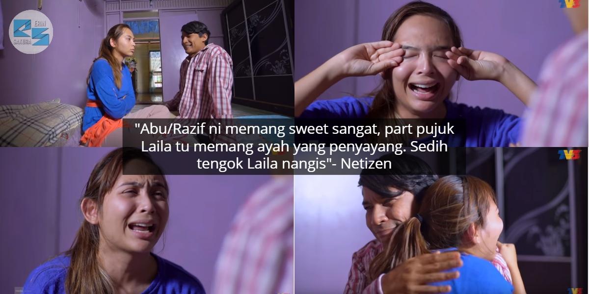 [VIDEO] Kecewa Dengan 'Jekfer', Netizen Sayu Tengok Scene Daddy Pujuk Laila