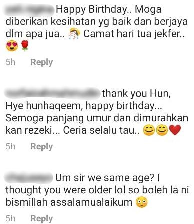 Laila Titip Ucapan Sweet Birthday Ke-22 Jekfer, Peminat Mahu Sambungan Drama