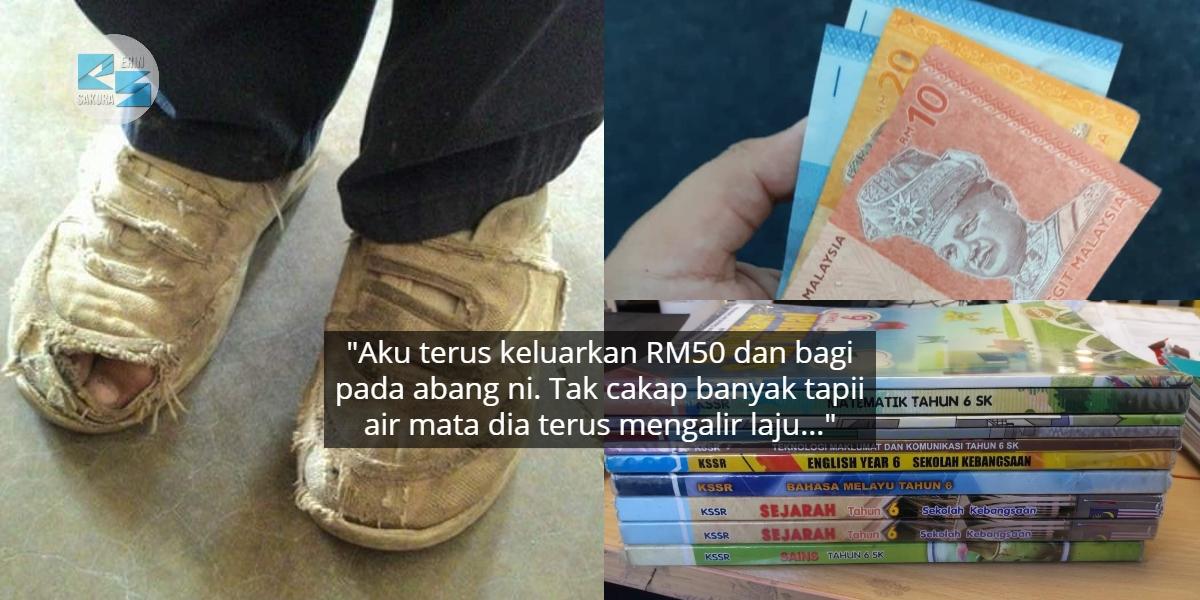 Ayah Tak Mampu Bayar Yuran Anak RM30, Tebalkan Muka Pinjam Pada Saudara Tapi…