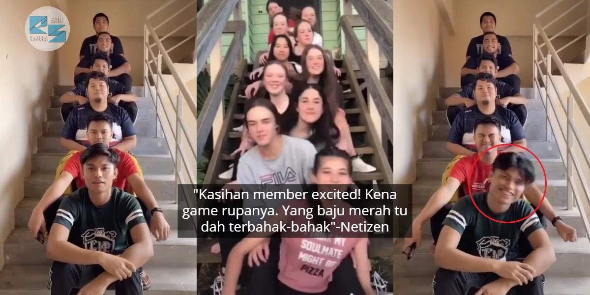 Beria Buat Tarian Kepala Ular Di TikTok, Pemuda Tak Sedar Member Dah 'Pedajal'
