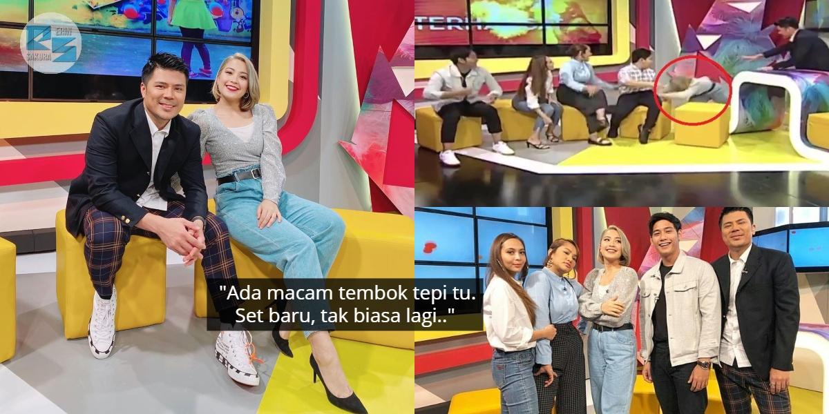 [VIDEO] Janna Nick Tergolek Live, Kaki Terpelecok Depan Pelakon Kampung People