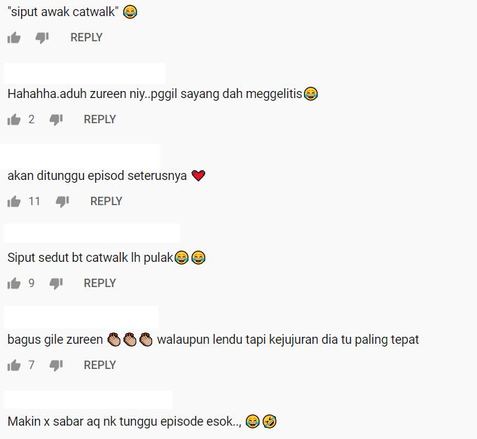 """Siput Buat Catwalk, Zureen Excited Dipanggil Sayang""-Episod 9 Buat Ramai Gelak"