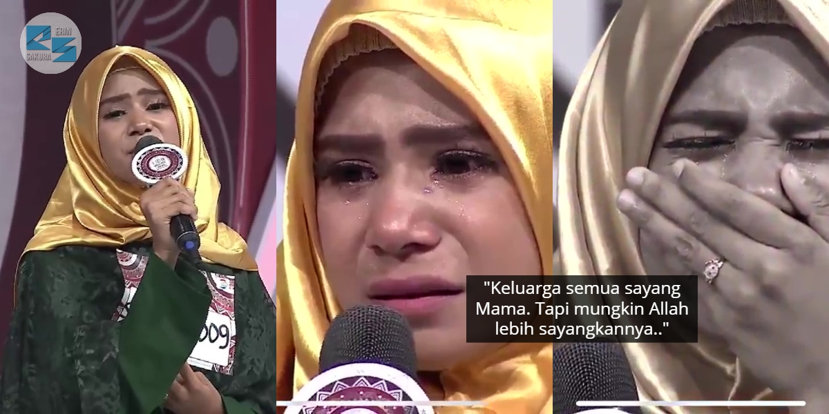 Baru Teruja Lulus Audition, Tapi Gadis Luluh Dapat Panggilan Ibunya Telah Tiada