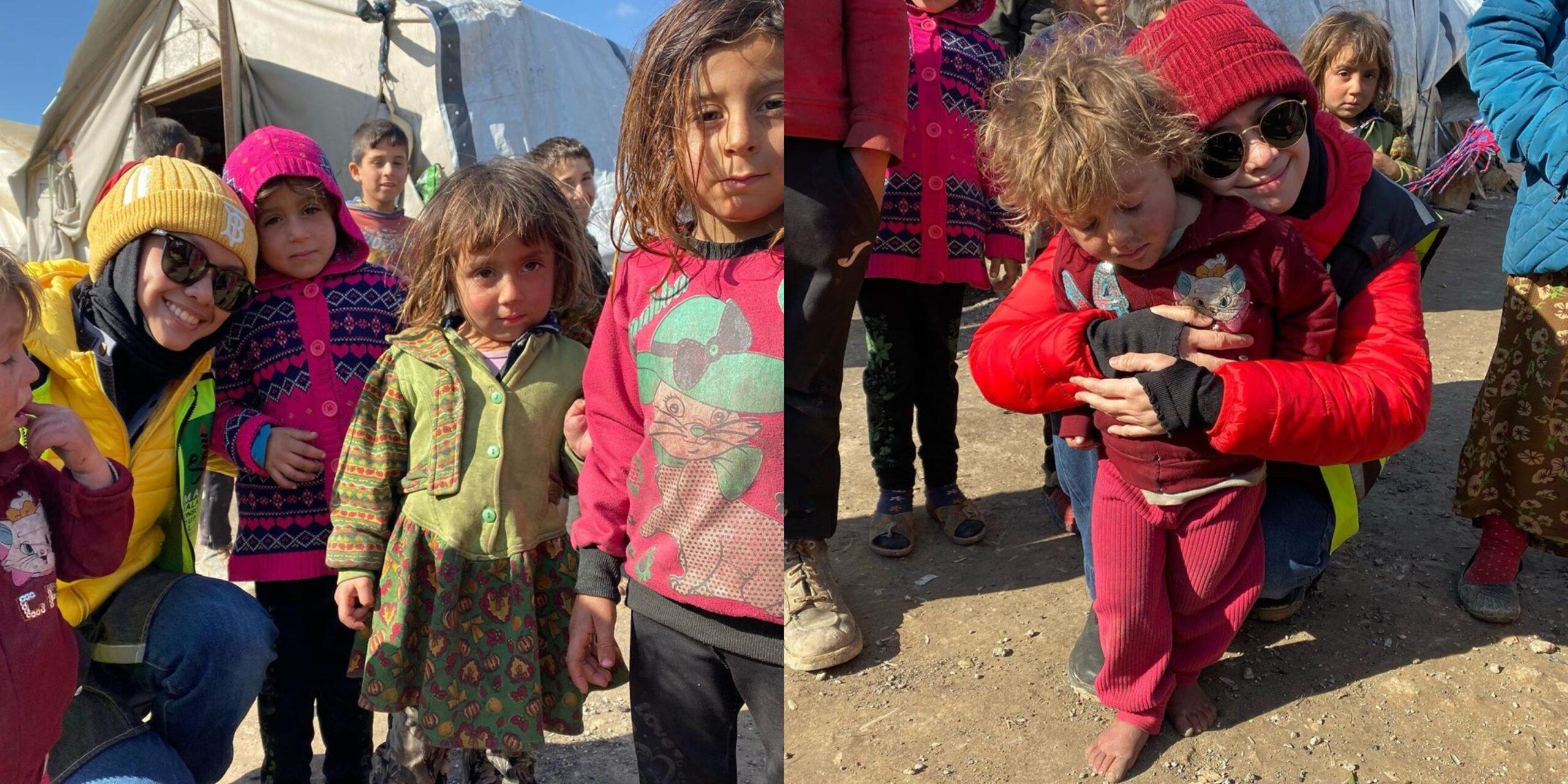 """Selimut Macam Dapat Banglo""- Heliza Sebak Anak Syria Redah Musim Sejuk Ekstrem"