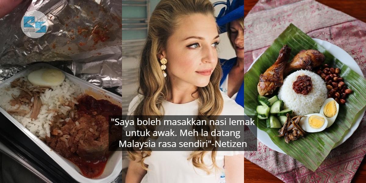 Penangan 'Tentera Bawang' Malaysia, Wartawan UK Minta Maaf Terkutuk Nasi Lemak