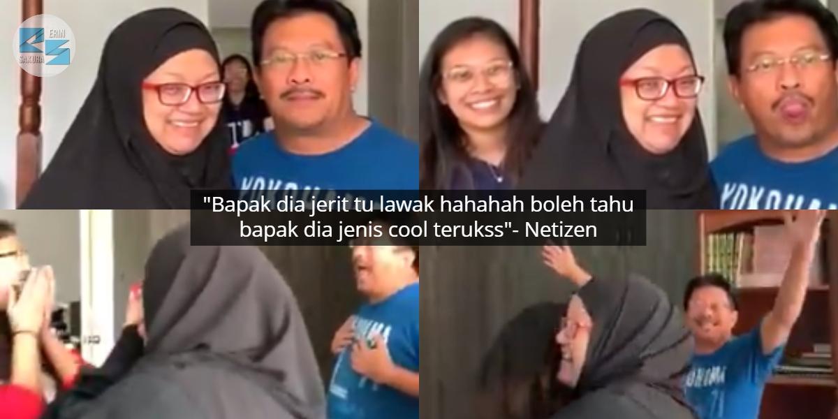 [VIDEO] Mak Terkejut Ingat 'Hantu', Kena Prank Dengan Anak 3 Tahun Tak Balik