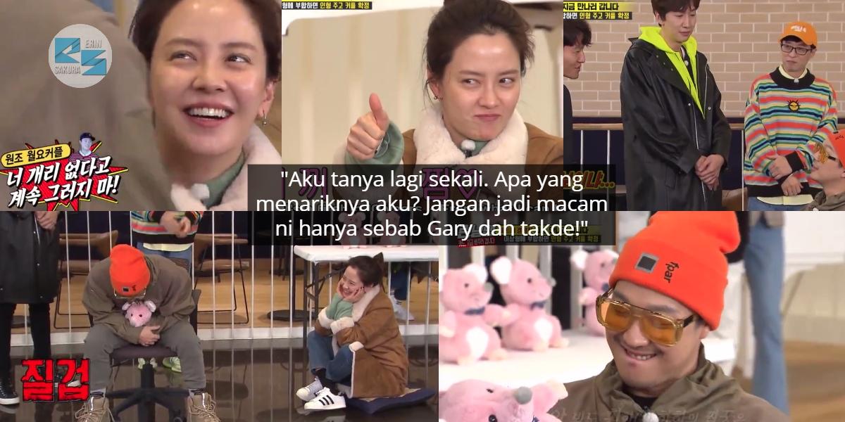 [VIDEO] Try Hard Nak Jadi Couple, Haha Naik Angin Bila Jihyo Asyik 'Menggatal'