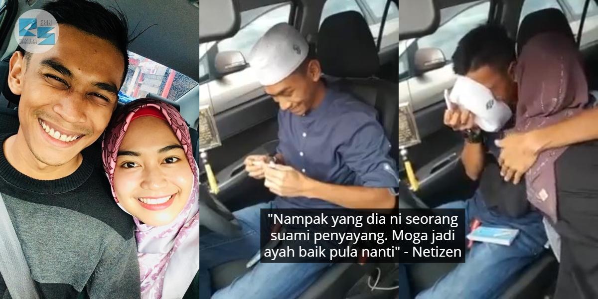 "[VIDEO] ""Orang Tu Nak Jadi Daddy"" – Lelaki Ini Sebak Bila Isteri Surprise Hamil"