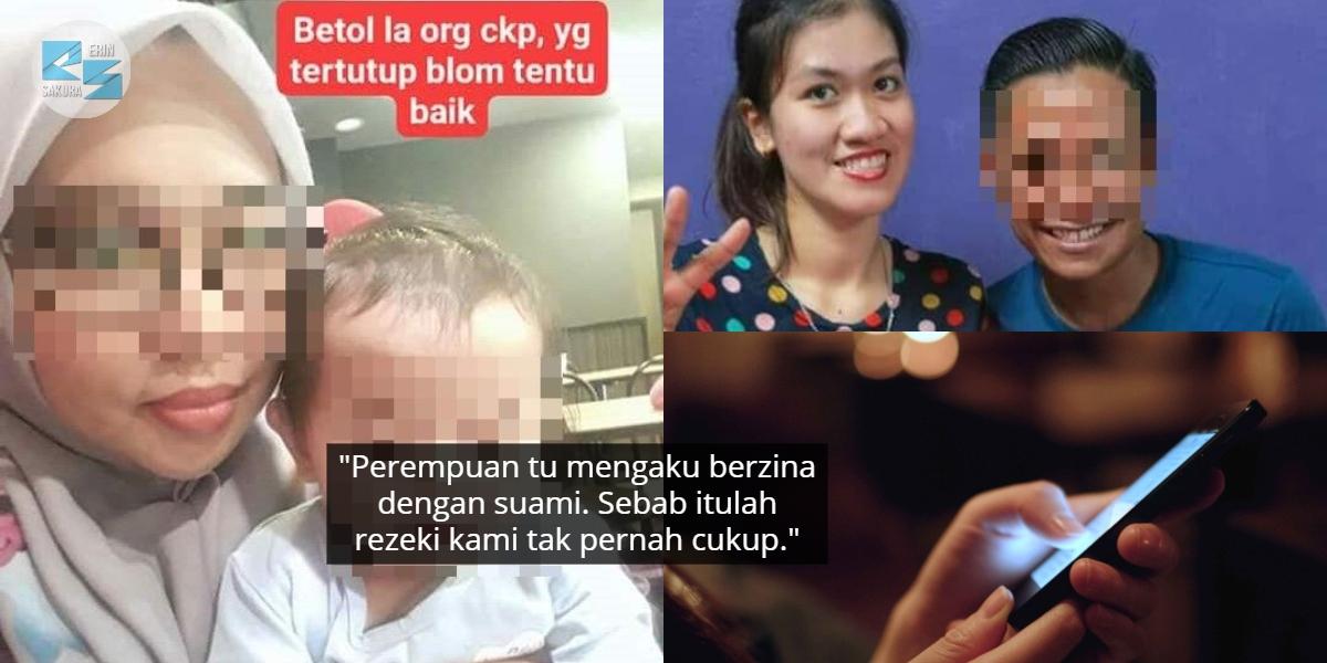 """""""Apa Lagi Tak Cukup?""""- Hati Wanita Hancur Lihat Perbualan Jijik Suami & Skandal"""