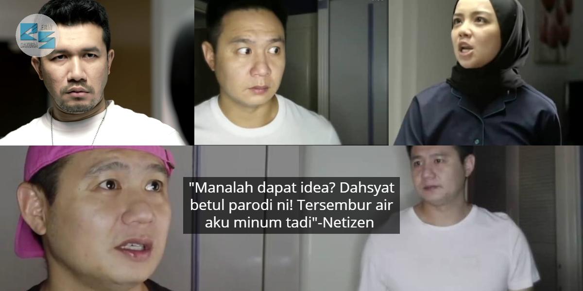[VIDEO] Gigih Buat Parodi Lawak Drama 'Adellea Sofea', Douglas Lim Undang Tawa