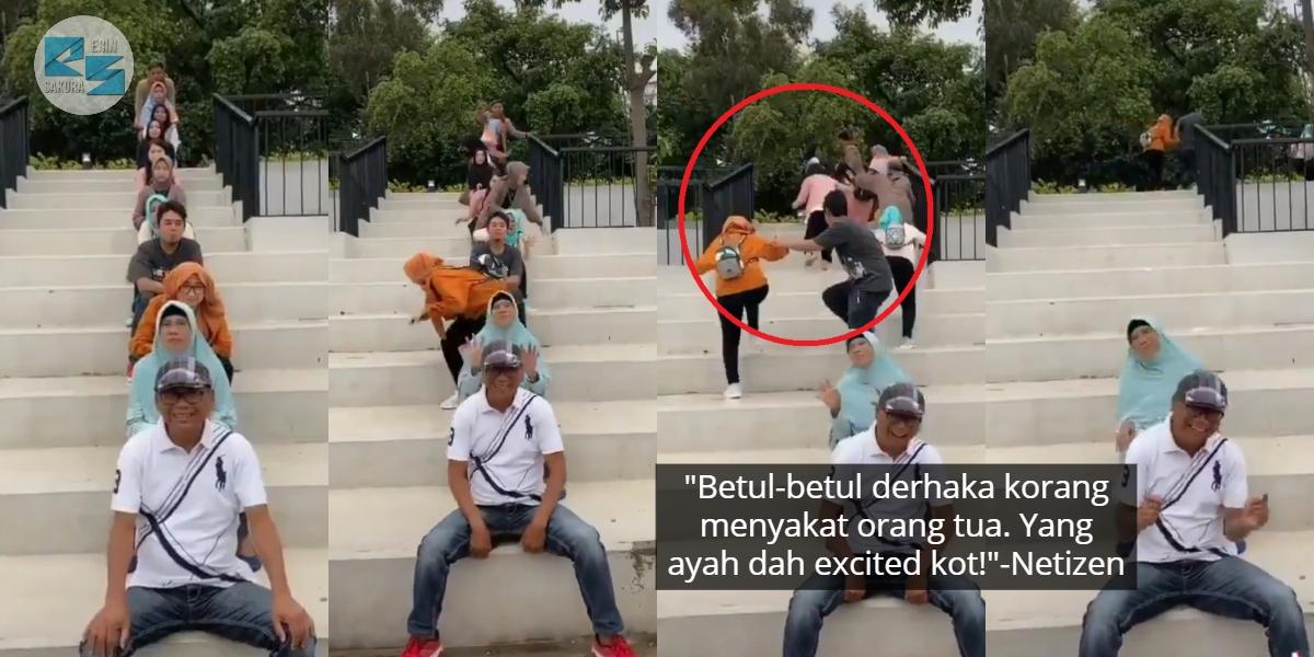 Percaya Kononnya Ajak Buat Video TikTok, 9 Beradik 'Pedajal' Mak Ayah Sendiri