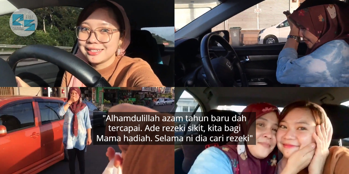 [VIDEO] Siap Tipu Konon Busy Kerja, Ibu Menangis Lepas Anak Hadiahkan Kereta