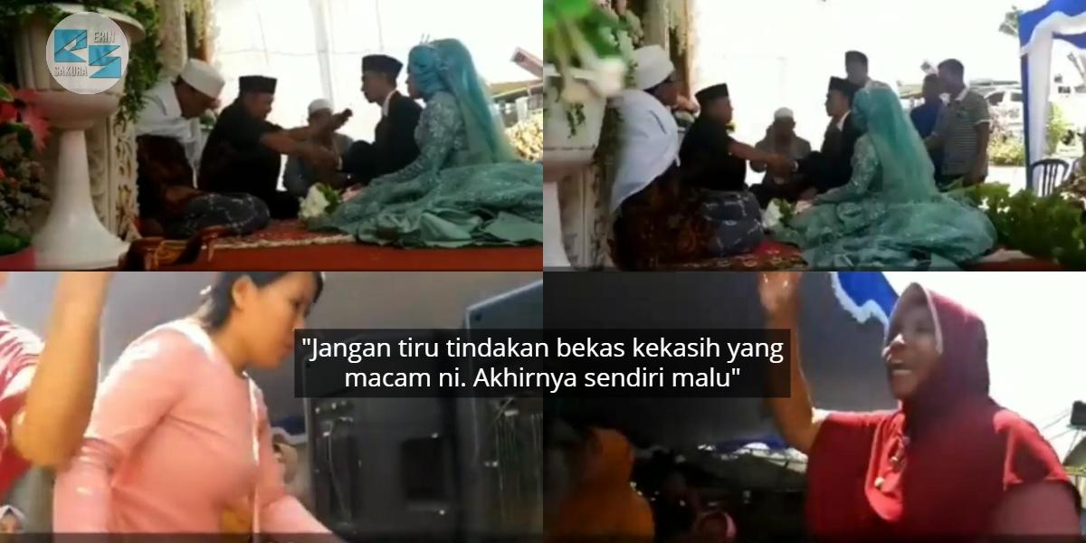 Baru Nak Akad Nikah, Lelaki Terkejut Ex-Girlfriend & Ibunya Datang Buat 'Drama'