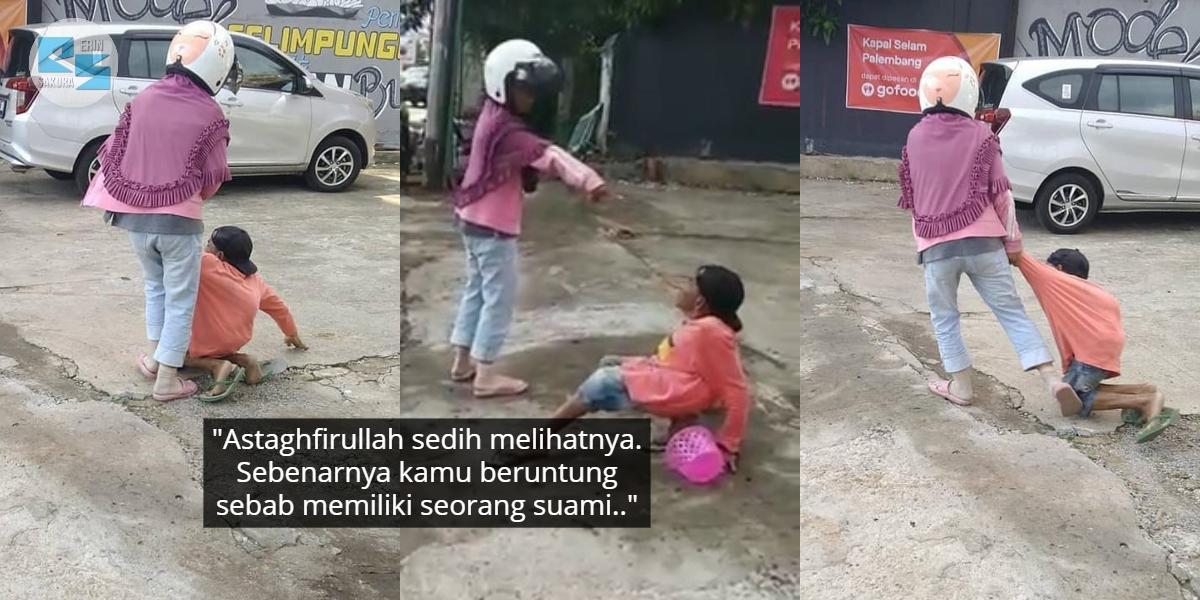 [VIDEO] Dimarah Isteri Sebab Gagal Mengemis, Nasib Lelaki OKU Undang Rasa Sebak
