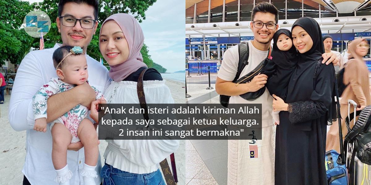 Tak Kira Kaya Atau Kuat Mana Pun, Lelaki Pasti Akan Lemah Tanpa Isteri & Anak