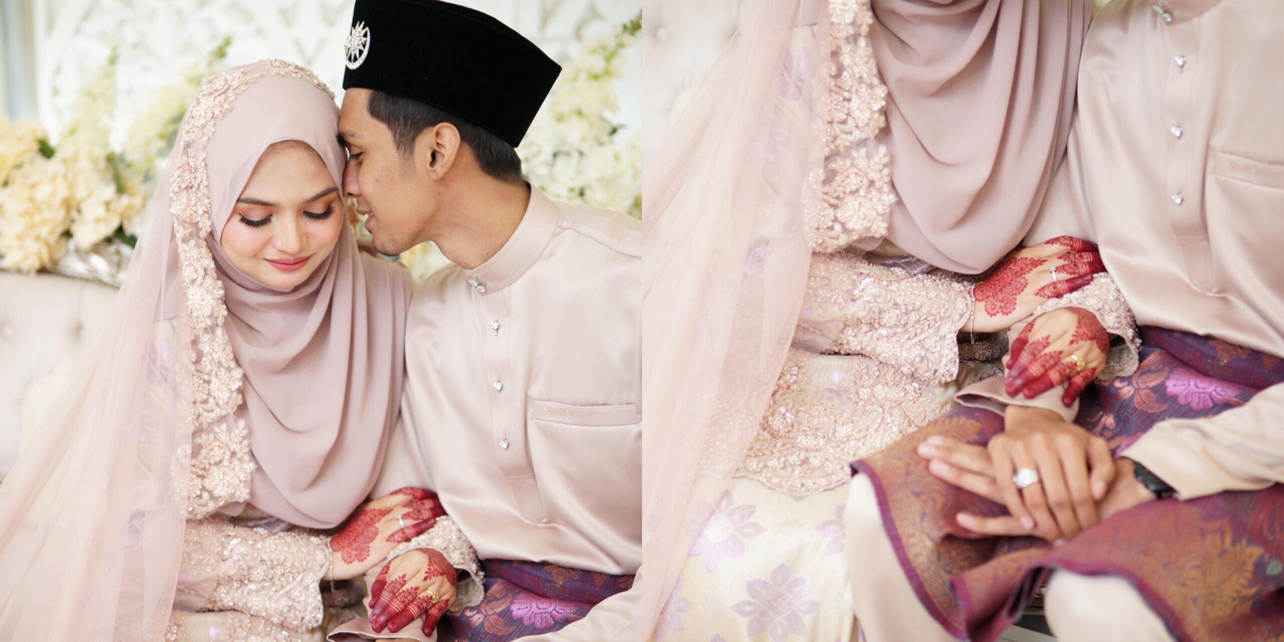 7 Tahun Kenal, Pengantin Ini First Time Nyanyi Depan Isteri Di Hari Perkahwinan
