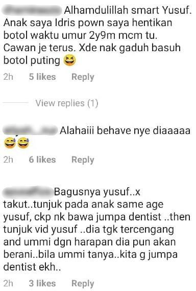 Hanis Zalikha Bawa Anak Check Gigi, Dentist Suruh Stop Minum Susu Botol Takut..