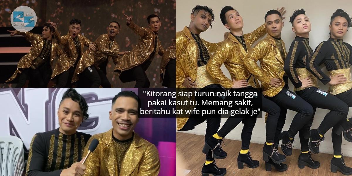 Aksi K-Pop Dipuji Comel, W.A.R.I.S. Tak Pernah Terbayang Menari Guna High Heels