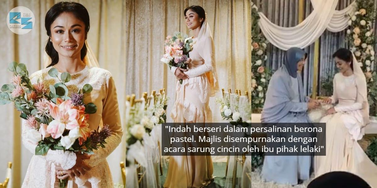 [VIDEO] Anggun Menawan, Tasha Shilla Kini Sah Bertunang Dengan Jejaka Pilihan