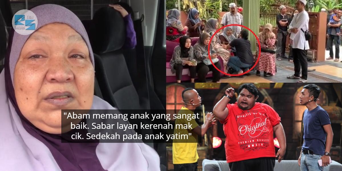 [VIDEO] Perit Hati Ibu Kehilangan Anak, Johan Melutut Untuk Tenangkan Mak Abam