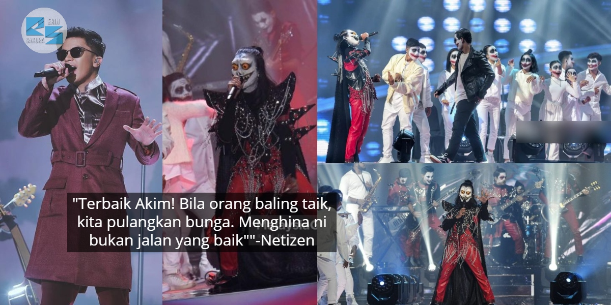 'Dibadutkan' Dalam Persembahan Drama Band, Netizen Salute Respon Haqiem Rusli