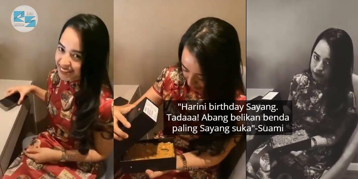 [VIDEO] Suami Konon Sweet Hadiahkan Phone, Isteri 'Terciduk' 2 Kali Kena Prank