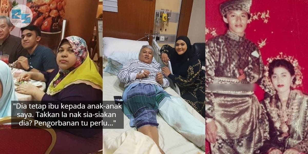 Kaki Dipotong Sebab Diabetes, Chef Wan Rela Jaga Ex-Wife Siap Bawa Balik Rumah
