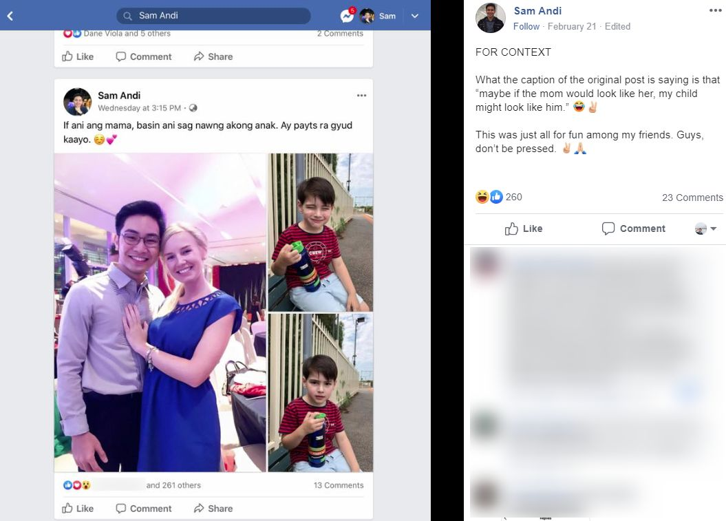 Viral Wajah Anak 'Mixed', Tapi Rupanya Dalam Gambar Tu Bukan Ibu Bapa Kandung?