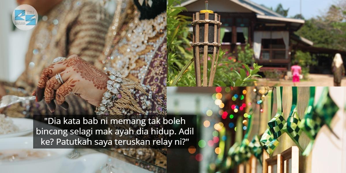 Raya First Wajib Balik Kampung Suami, Gadis Dilema Bercinta Dengan Anak Tunggal